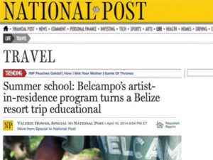 Belcampo Belize National Post