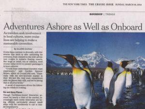 Adventure Canada NYT