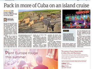 Cuba Cruise Telegraph Journal
