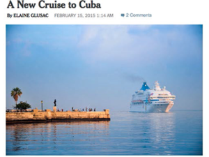 Cuba Cruise – The New York Times