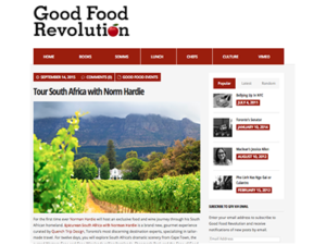 Quench Trip Design – Good Food Revolution
