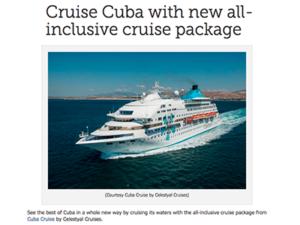Cuba Cruise – Canoe