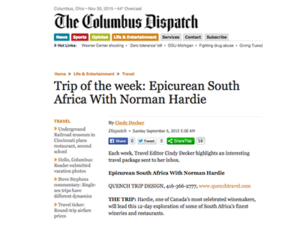 Quench Trip Design – The Columbus Dispatch