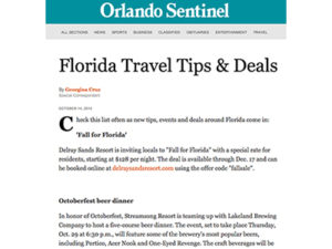 H+I Adventures – Orlando Sentinel