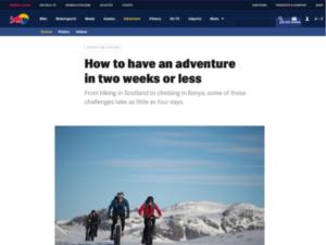 H+I Adventures – Red Bull
