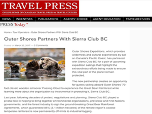 Outer Shores – Travel Press