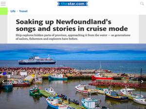 Adventure Canada – Toronto Star
