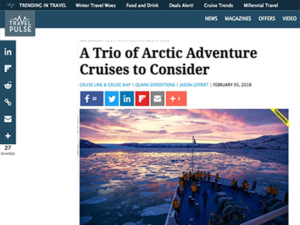 Adventure Canada – Travel Pulse