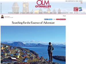 Adventure Canada – Ottawa Life