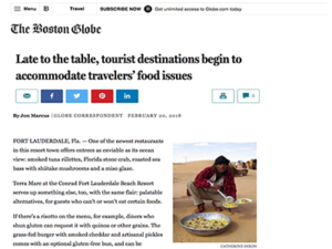 Exodus Travels – Boston Globe