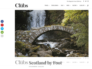 Wilderness Scotland – Private Clubs Magazine