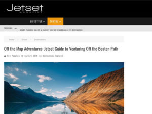 Adventure Canada – Jetset Magazine