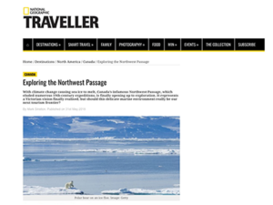 Adventure Canada – National Geographic Traveller UK