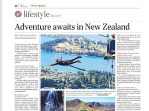 New Zealand Walking Tours – The New Paper