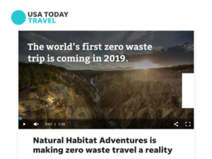 Natural Habitat Adventures – USA Today