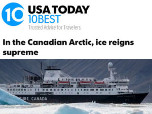 Adventure Canada – USA Today
