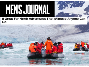 Adventure Canada – Men's Journal