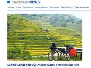 Saddle Skedaddle-Travelweek